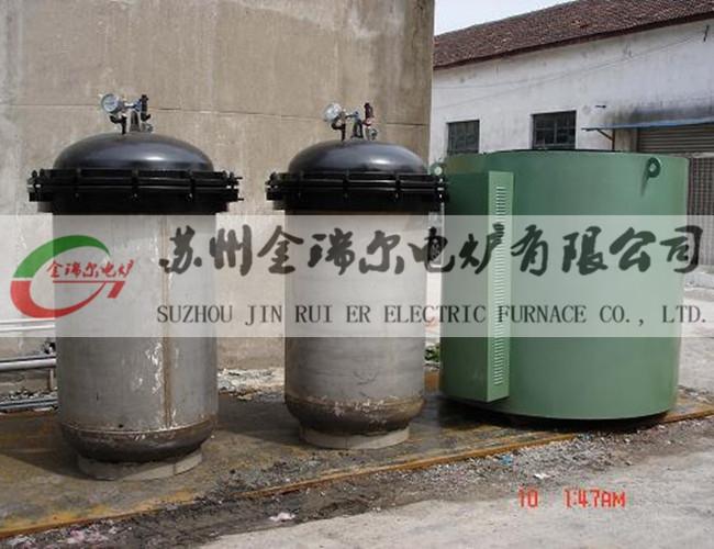 中温井式炉