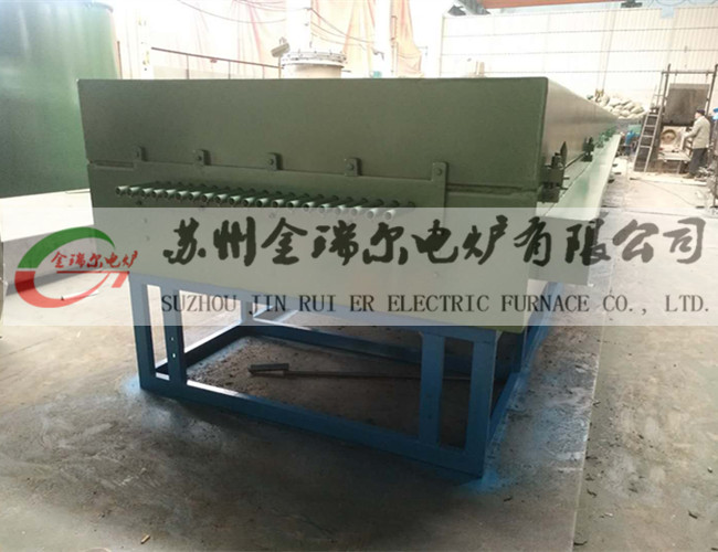 Continuous annealing furnace for stainless steel wire (tube furnace)