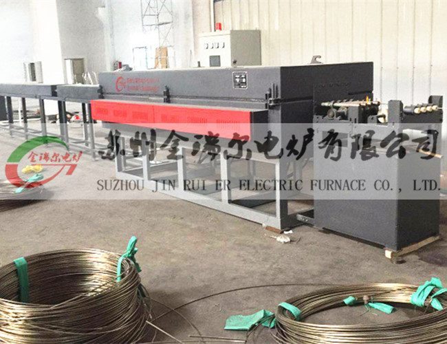 Continuous bright annealing furnace for stainless steel coil