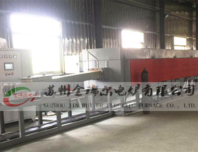 Bright annealing furnace for stainless steel bellows