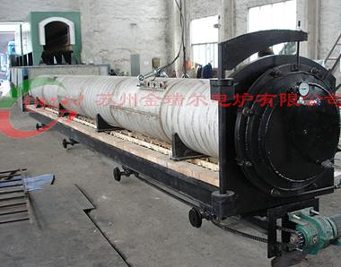 Steel strip annealing furnace